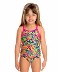 324a95cfcdd Dětské dívčí plavky Funkita Crazy Crayon