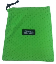 Funky Trunks Mini Mesh Bag zelený