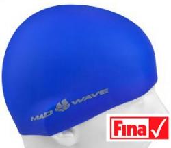Plavecká čepice Mad Wave Intensive modrá 7c7543beed