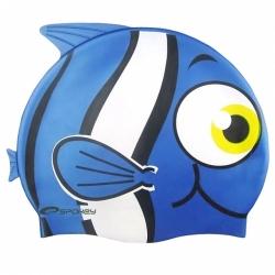 Dětská plavecká čepice Spokey rybka modrá 77785c541e