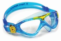 Juniorské plavecké brýle Aqua Sphere Vista Junior modré čiré e553772df6