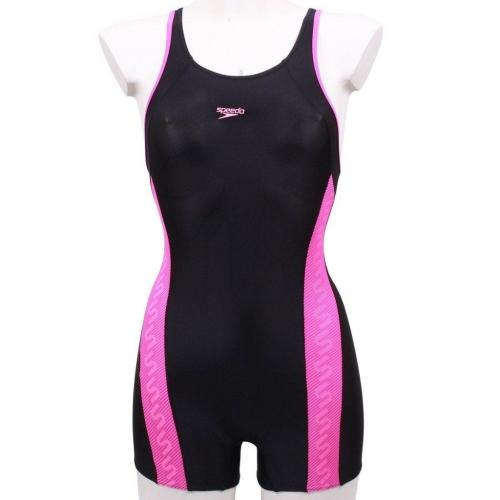9a6ea9600a4 Dívčí nohavičkové plavky Speedo Monogram Legsuit